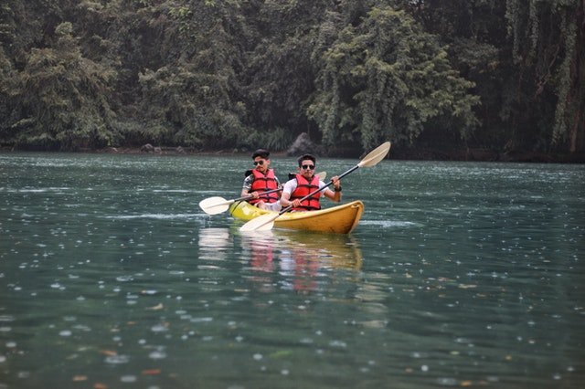 Kayaking -water sports and activities in goa