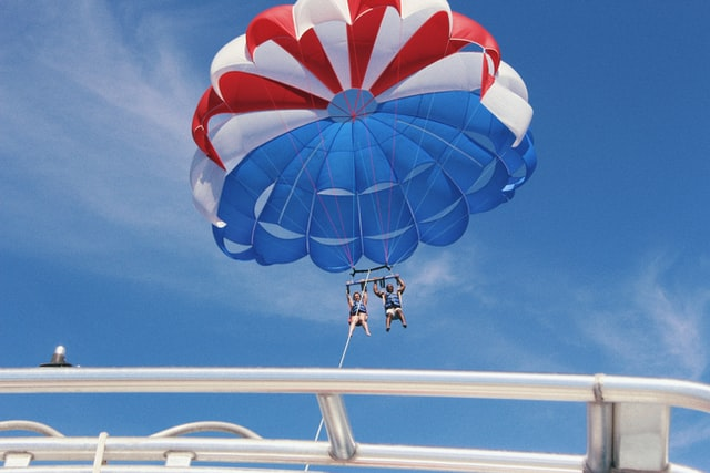 Parasailing water sports