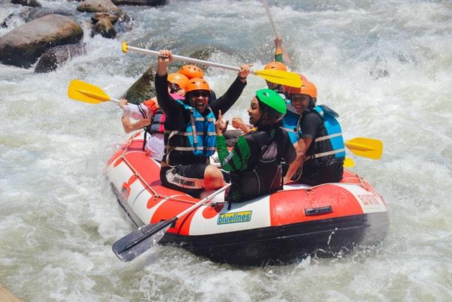 river rafting water sports and activitiy