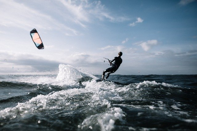 Kite Surfing -water sports and activities in goa