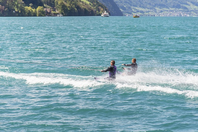 Kneeboarding water sports and activity