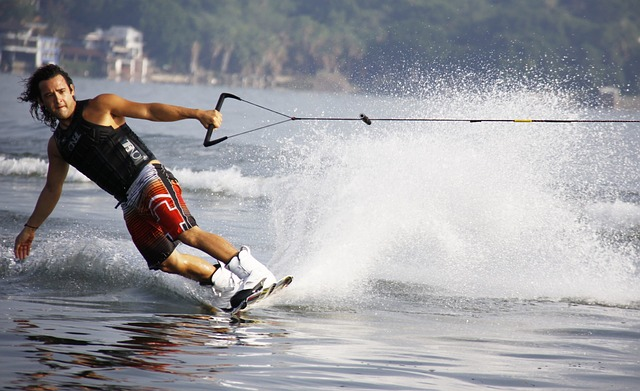 Water Skiing water sports and activity in Goa