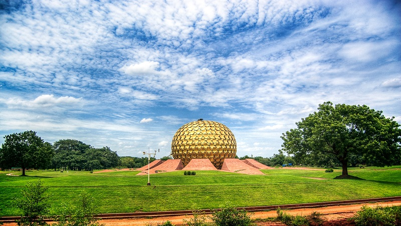 Matrimandir in Auroville Pondicherry