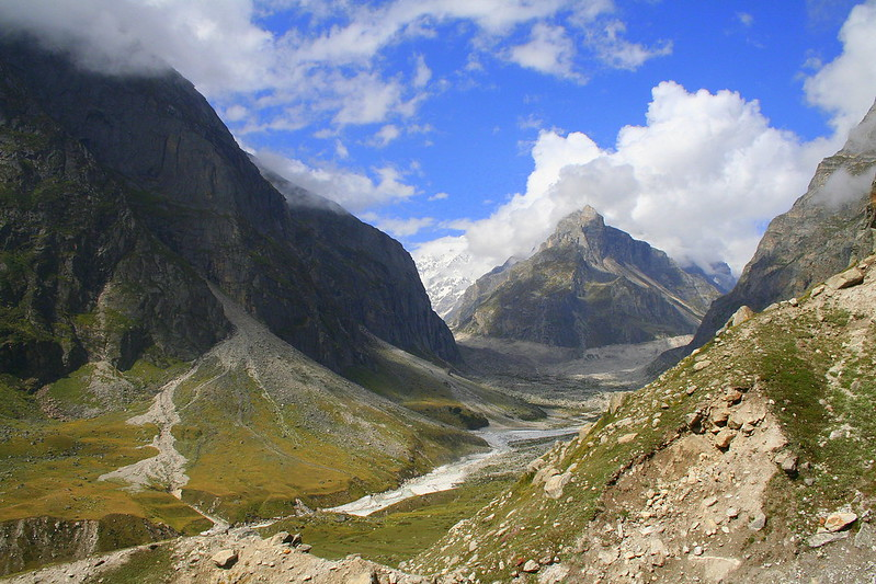 Valley and River View Badrinath