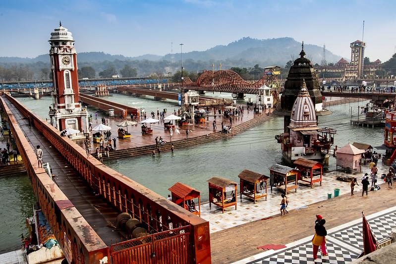 Temple in Haridwar