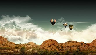hot air balloon rajasthan