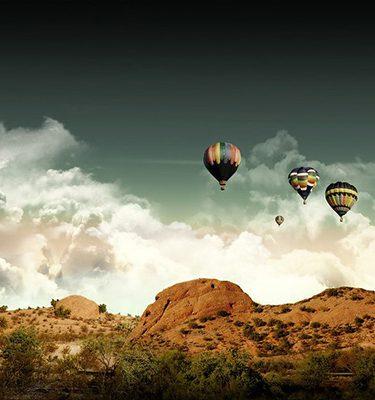 hot air balloon rajasthan