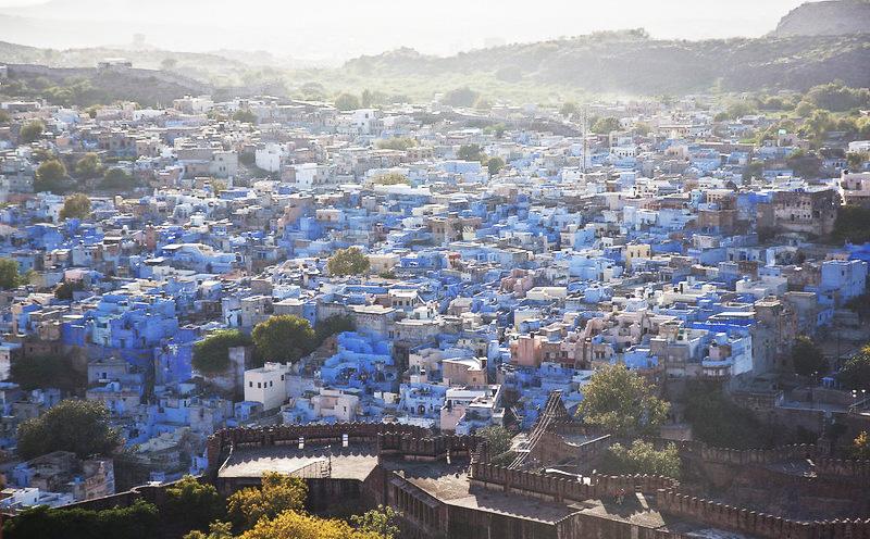 Blue Painted Houses Jodhpur