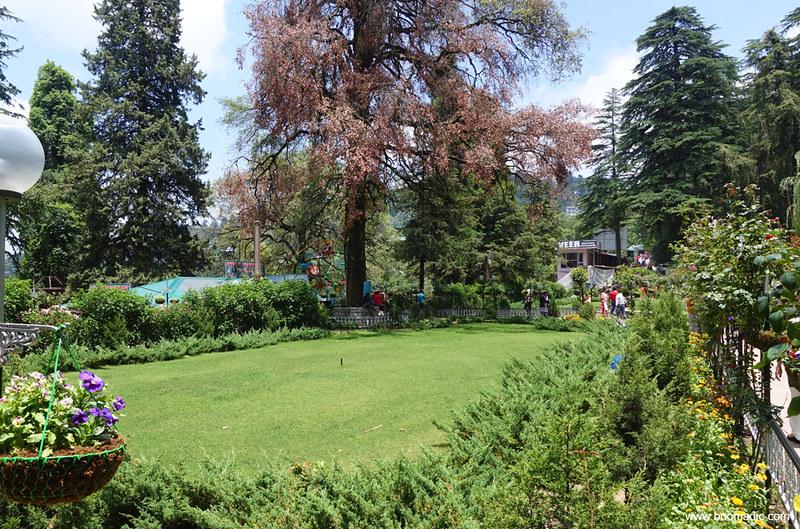 Company Garden or Company Bagh or Muncipal Garden Mussoorie
