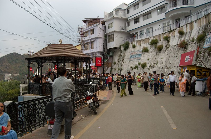 Mussoorie Mall Road