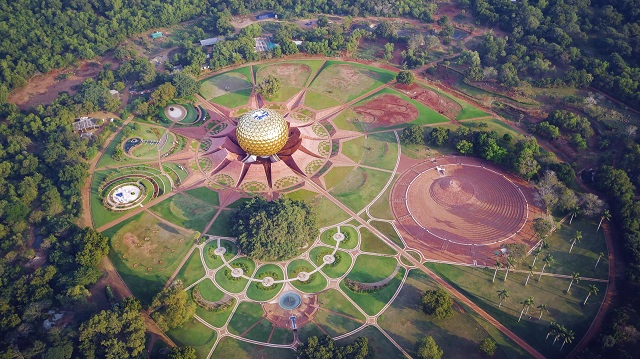 Auroville Aerial View Pondicherry