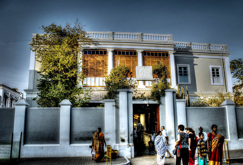 Sri Aurobindo Ashram Pondicherry