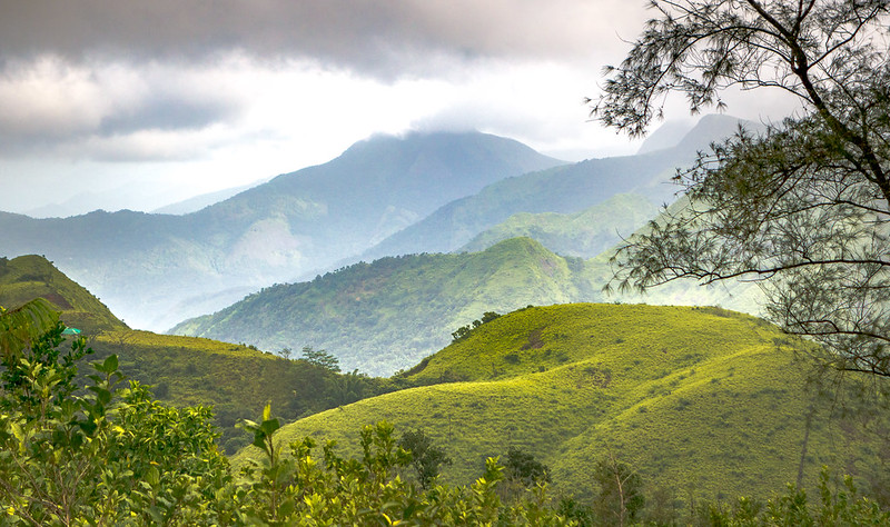 Vagamon or Wagamon hill station and land of coconuts