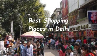 Delhi best shopping places